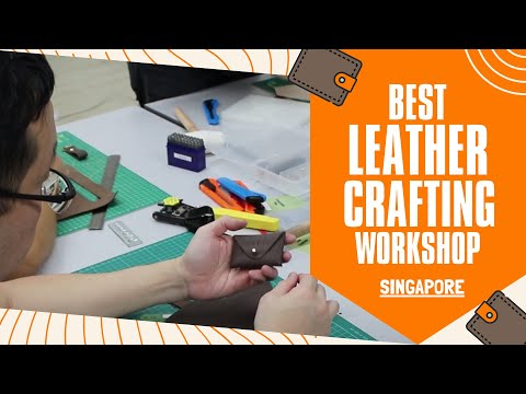 The Fun Empire Leather Making Workshop | Best Leather Craft Workshop In Singapore