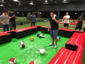 team building activities, Poolball Client