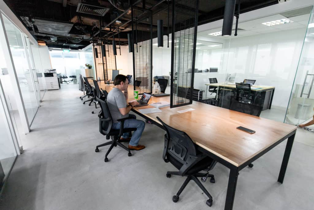 Coworking Spaces Singapore. The Company.