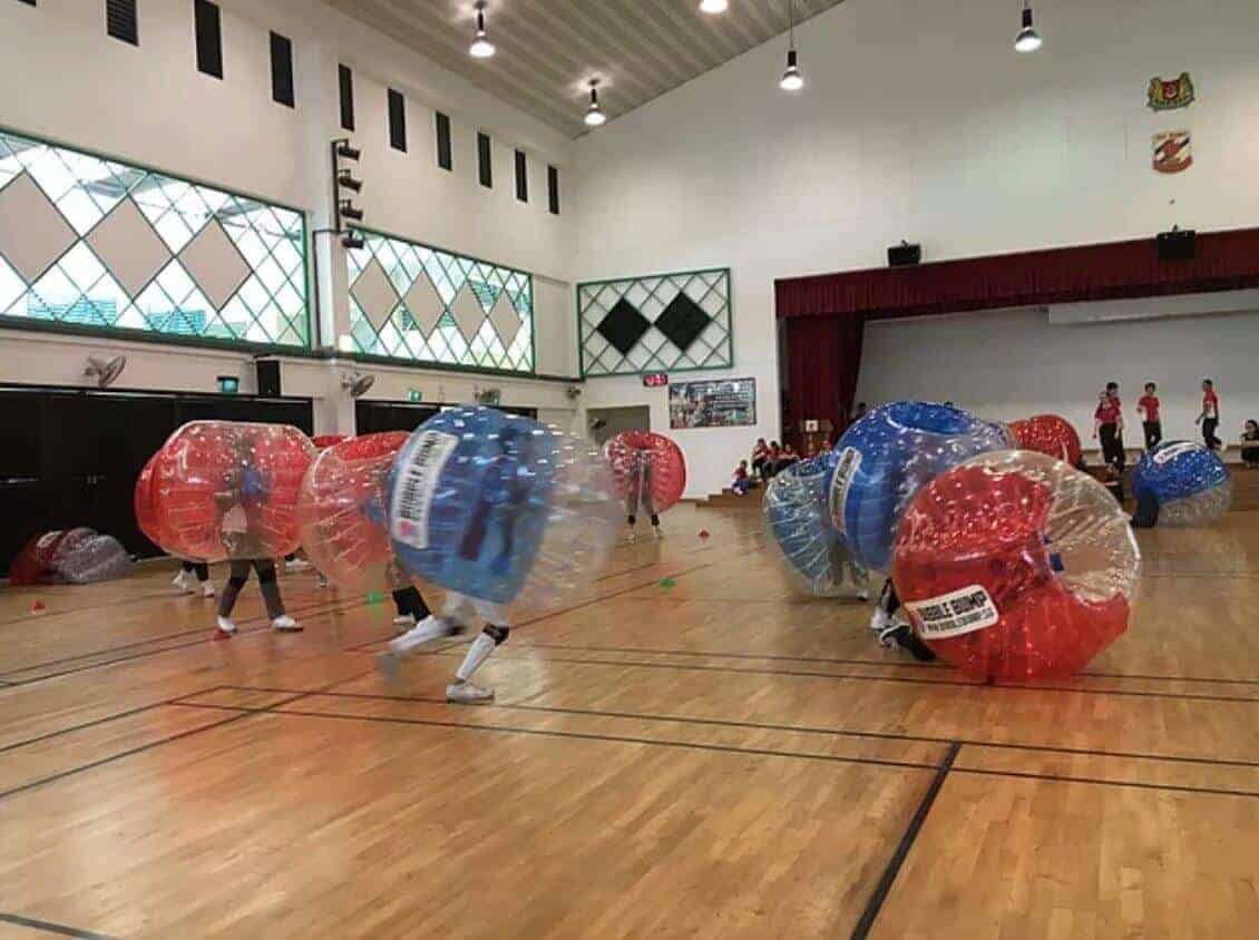 Bubble Bump : Bubble Soccer